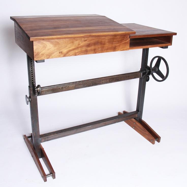 61 best stand up desk ideas images on pinterest desks woodworking and desk ideas. Black Bedroom Furniture Sets. Home Design Ideas