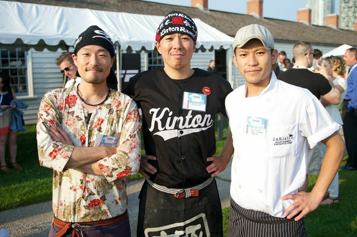 Chef Spotting Chef Masaru Ogasawara of Guu, Chef Aki Urata of Kinton Ramen and Chef Koji Tashiro of JaBistro at Taste of Toronto 2014! #TasteofToronto #Toronto #Food #Foodie