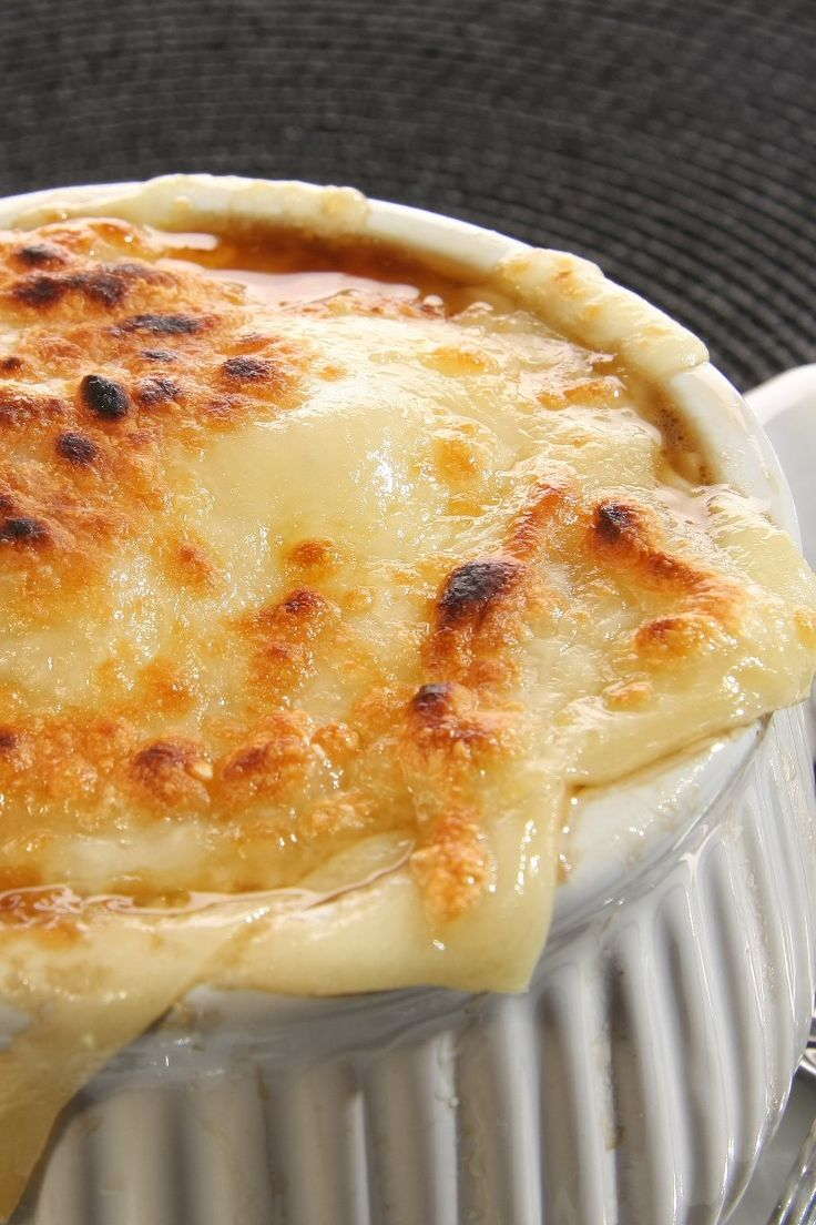French Onion Soup Gratinee Recipe