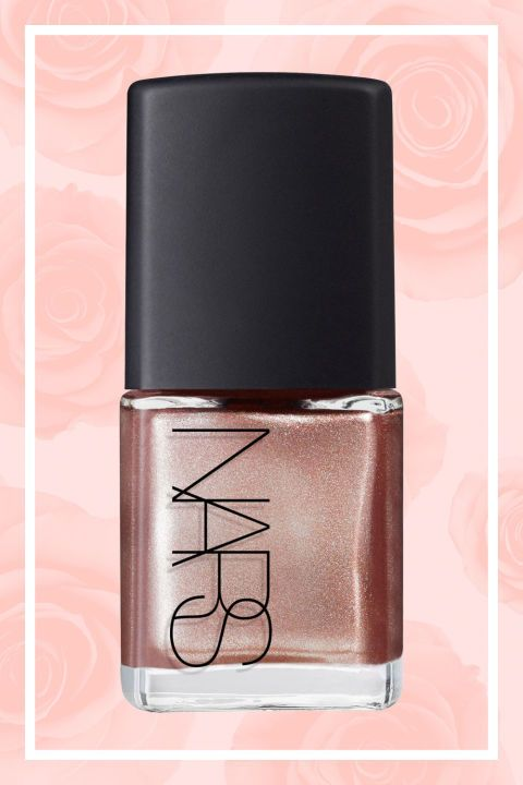 Silver and gold polishes are always a hit, but this lush lacquer is a much buzzier and more modern take on metallics. NARS Nail Polish, $20