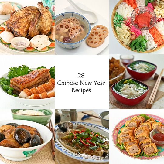 January 31, 2014 - Celebrate Chinese New Year's with Food! ★ 28 Chinese New Year Recipes ★ rotinrice.com