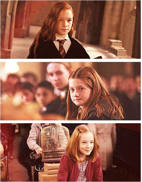 Lily Evans, Ginny Weasley, Lily Potter :) so darling. I love how Harry's mom was red head. it's like a sign that Harry was going to end up with Ginny.