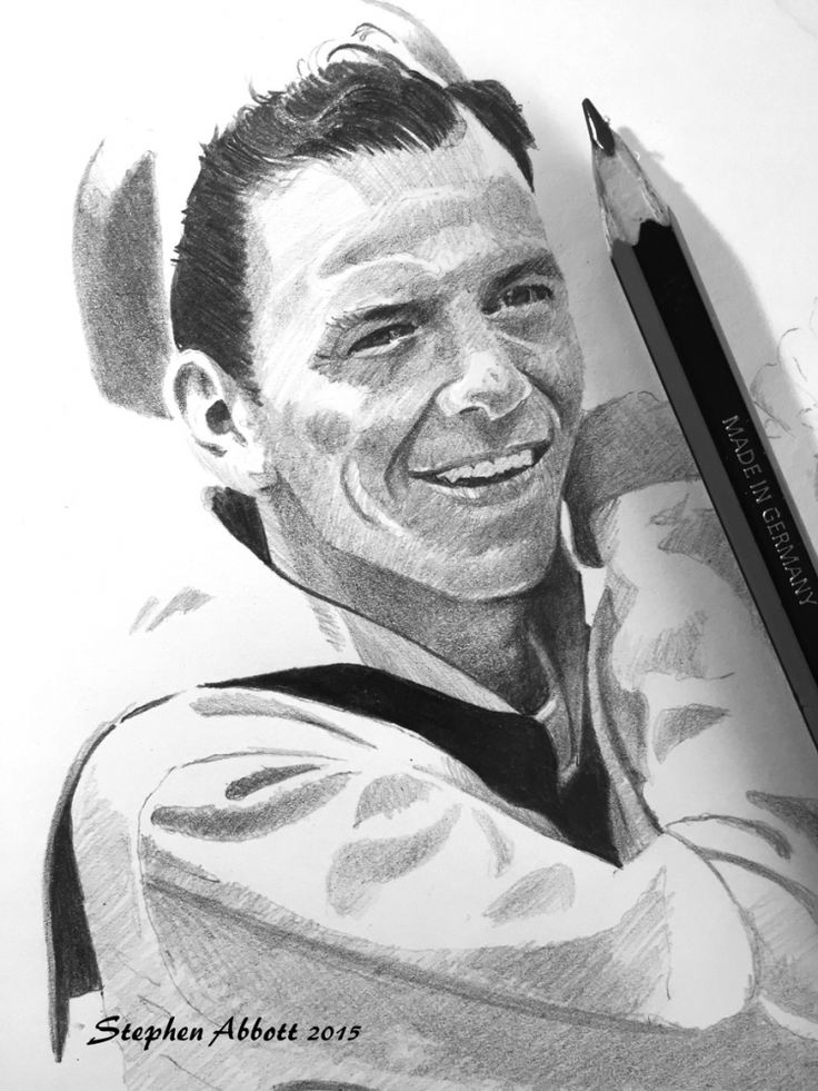 Portrait of frank sinatra by henstepbatbot on stars portraits the biggest online gallery for celebrity portraits