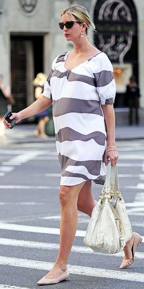 maternity street style- Ivanka Trump