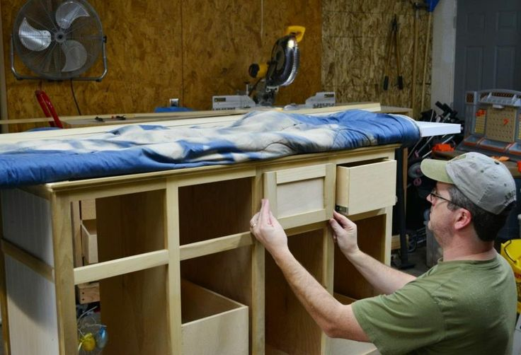 Quick And Easy Shaker Drawer Fronts