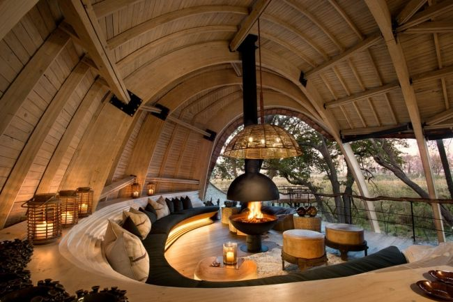 Five new luxury safari camps to visit in Africa: &Beyond Sandibe Okavango, Safari Lodge, BotswanaAfter a complete redesign by Fox Browne Creative, this luxury camp is as much about the design — with its cathedral-like ceilings and spectacular dining locations — as the location and wildlife spotting opportunities. Go to andbeyond.com.