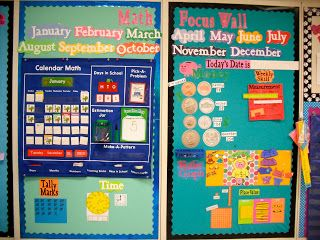 Math Focus Wall and My New Obsession...