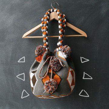 Diverso Studio Hand-Woven Colombian Carryalls