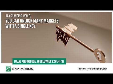New B2B Worldwide Campaign   Bank BNP Paribas