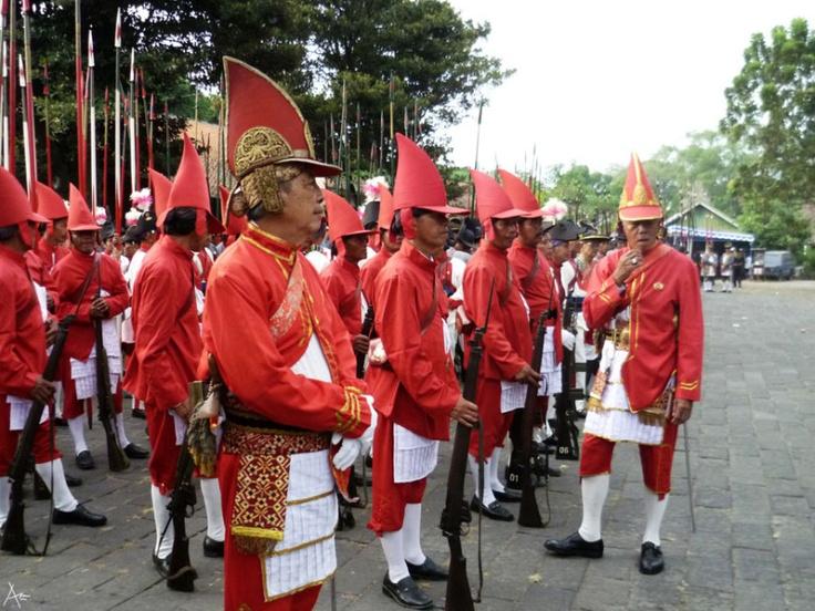 Guard of Sultan Palace - Prajurit Wirobrojo
