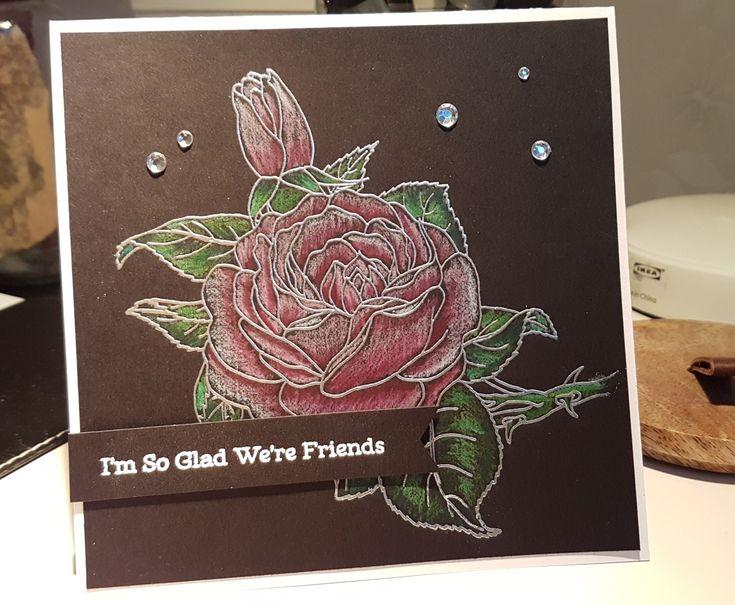 #Flowercard