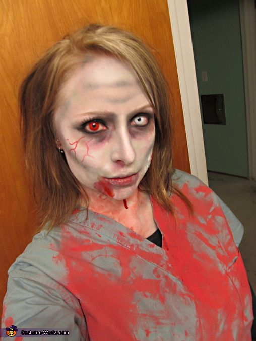 Zombie Nurse Costume - Halloween Costume Contest via @Costume Works