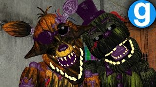 NEW FNAF 3 PILL PACK UPDATE PHANTOM FOXY & FREDDY Hide & Seek | Five Nights at Freddy's Gmod Sandbox - YouTube