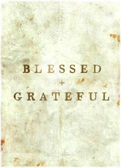 Blessed & #Grateful