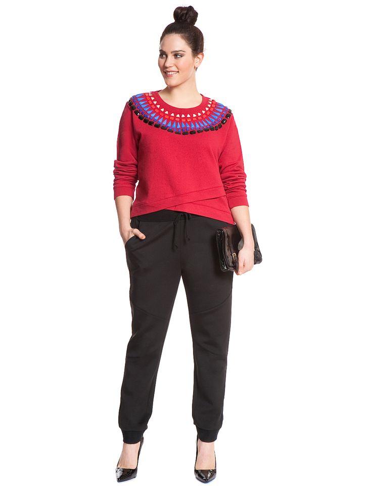 Scuba Track Pant | Women's Plus Size Pants