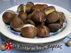 Κάστανα ψητά στο φούρνο #sintagespareas