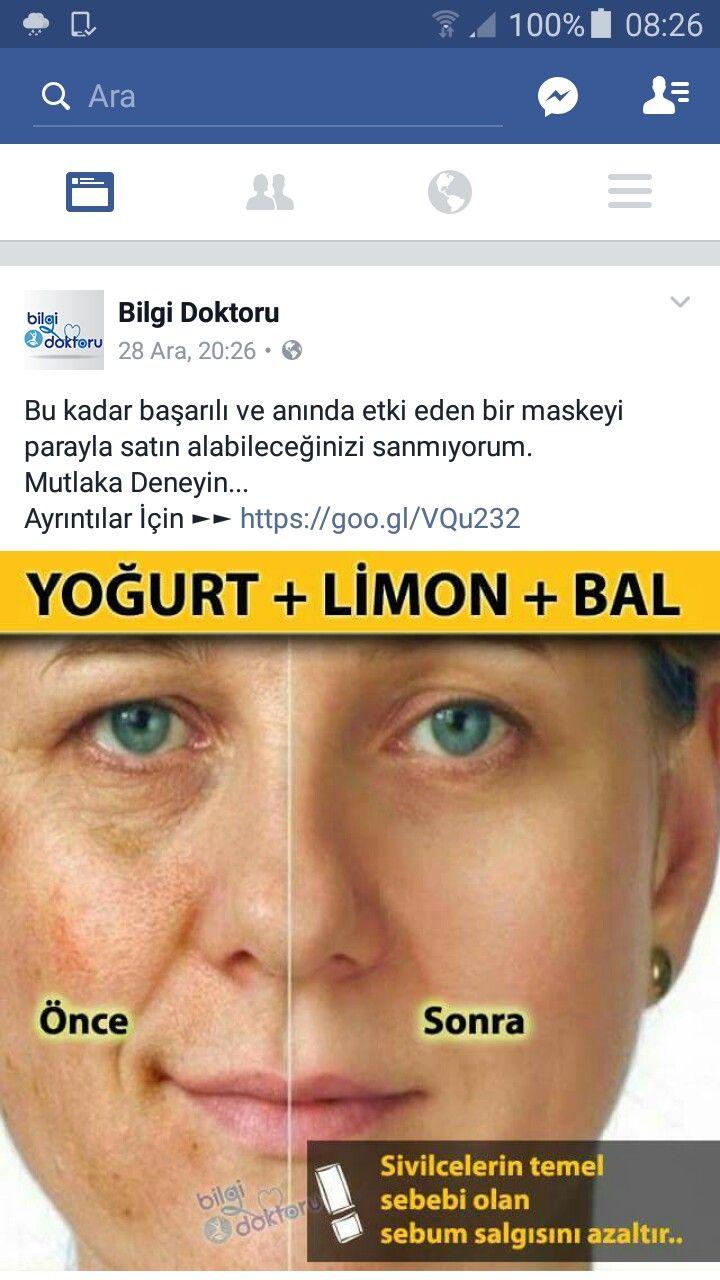 Yoğurt ve Karbonat Maskesi