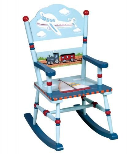 $122.00  (CLICK IMAGE TWICE FOR UPDATED PRICING AND INFO)  Childrens Rocking Chair - Transportation Rocking Chair - Guidecraft - G85301 - See More Kids Rocking Chair at http://www.zbuys.com/level.php?node=4025=kids-rocking-chairs