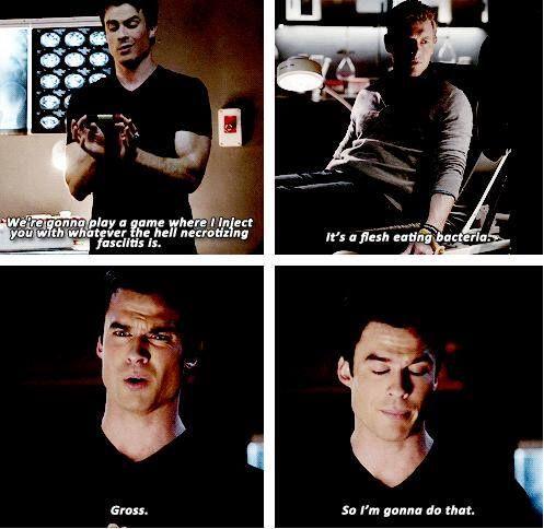 Love Damon Salvatore! The Vampire Diaries. TVD.