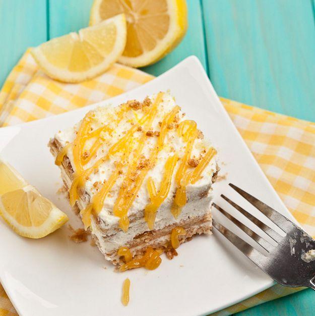 Lemon Icebox Cake | 27 Delicious No-Bake Icebox Cakes
