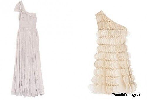 Платья с открытым плечом - и Вы королева вечера! / футболка с открытым плечом