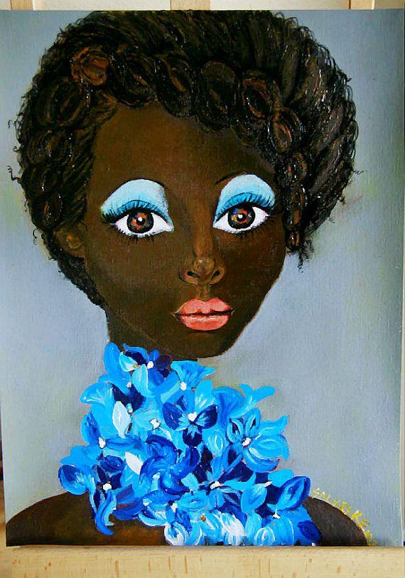 Black Art par Salkis Re   Peuton aimer tout de moi  par SalkisReArt, $150.00