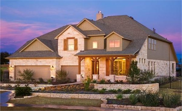 57 best images about lennar homes exteriors on pinterest for Modern home builders austin