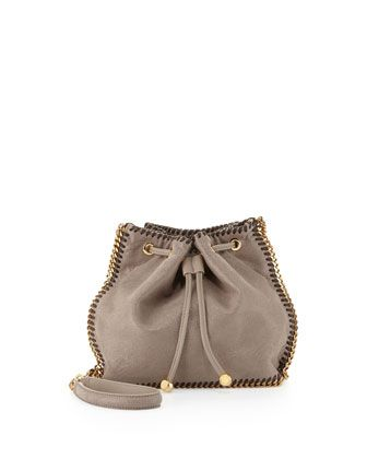 Falabella Pouch Crossbody Bag, Smoke by Stella McCartney at Neiman Marcus.