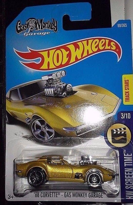 hot wheels screen time 310 u002768 corvette gas monkey garage