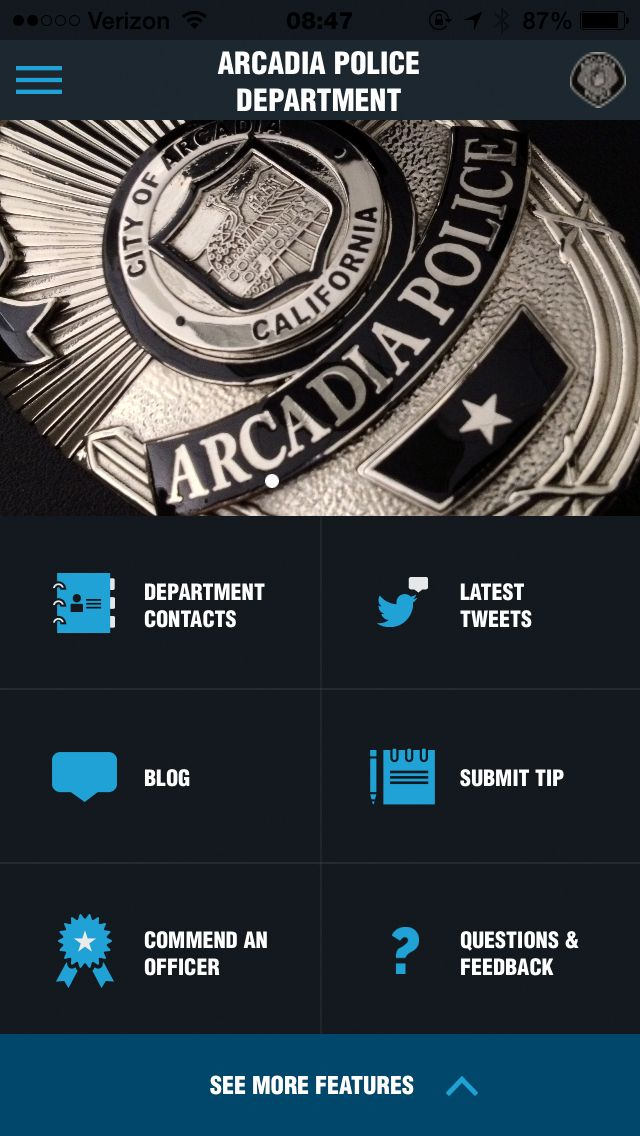 Arcadia Police Department News u0026 Information Blog