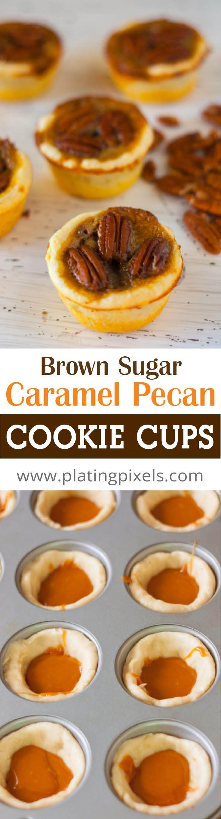 ... Pecan Cookie Cups | Recipe | Caramel Pecan, Cookie Cups and Pecans