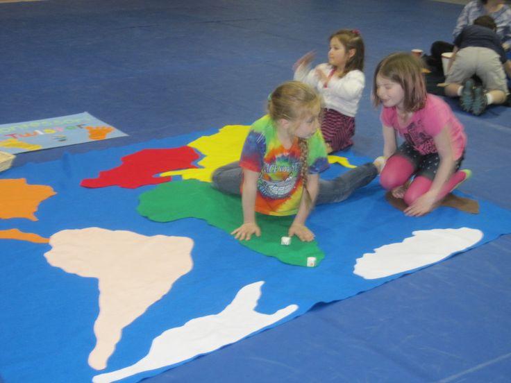 Twister met continenten