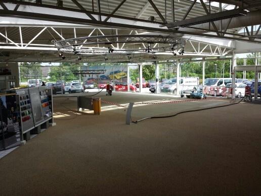 Vi pusser opp Opel-hallen dag 3.