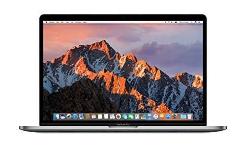 Apple MacBook Pro MLH32LL/A 15.4-inch Laptop with Touch Bar (2.6GHz quad-core Intel Core i7, 256GB Retina Display), Space Gray