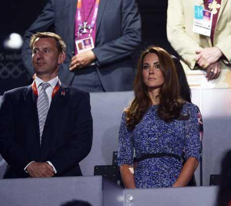 Olimpiadi Londra 2012: Kate Middleton ricicla un abito già indossato per il Giubileo della Regina