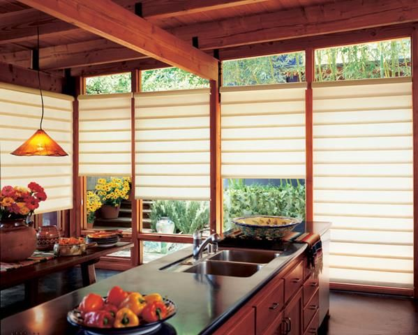 Statue of Stunning and Stylish Blinds for Kitchen – Neutral and Colorful