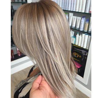 Ash blonde highlights                                                                                                                                                     More