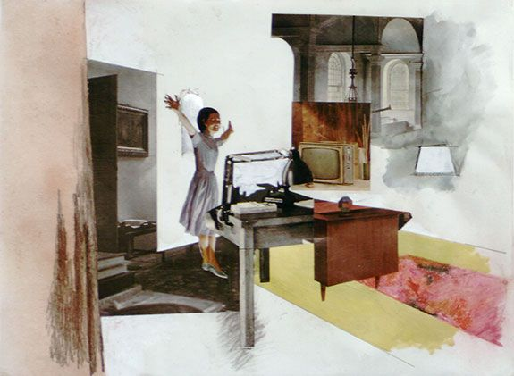 Richard Hamilton, Interior Study (b), 1964