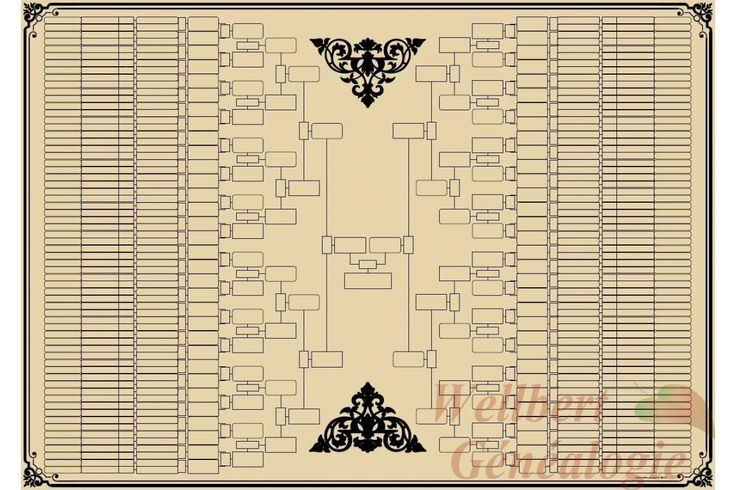 printable family tree template