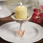 """""""Floral Butterfly"""" Pillar Candle/Candle Holder - WrapWithUs"""