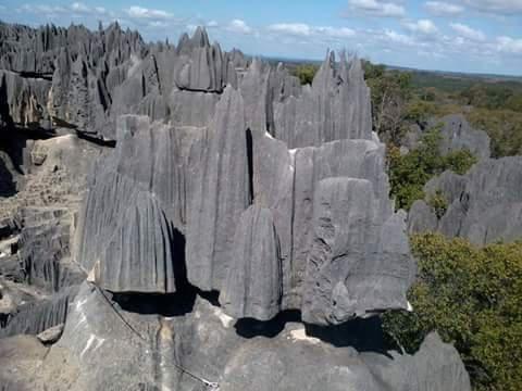 Tsingy of Bemaraha in Madagascar