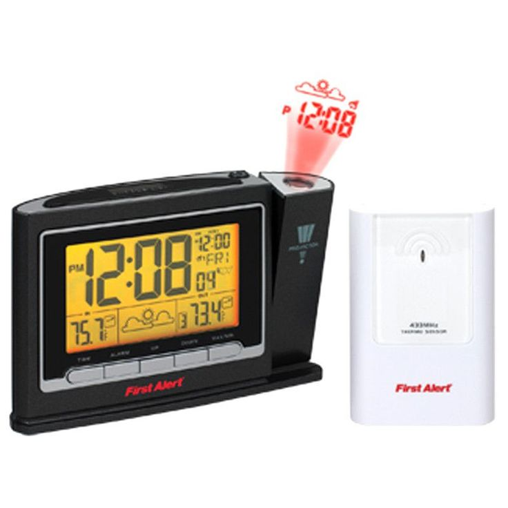 First Alert SFA2800 Black Radio Controlled Weather Station
