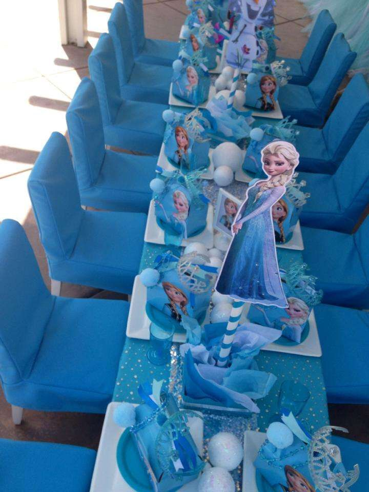 Disney Frozen Birthday Party Ideas | Photo 1 of 10 | Catch My Party