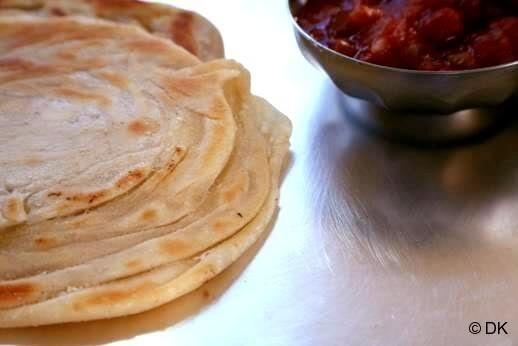 Kerala parotta ... I love breads.