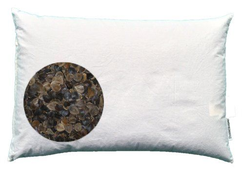 "Organic Buckwheat Pillow - Queen Size (20"" x 30"") Beans72 Buckwheat Pillows http://smile.amazon.com/dp/B000F1FL9E/ref=cm_sw_r_pi_dp_YzHStb0S0PMYCYQ1"
