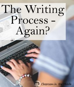 teaching writing process middle school Review: teacher reviews the stages of the writing process guided questions: how  teacher reviews how a story needs a beginning, middle, and an ending.