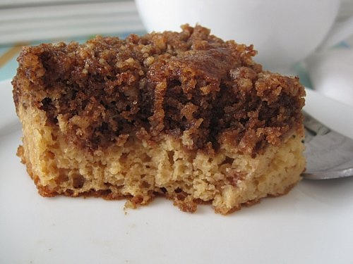 Gluten Free Sugar Free Coffee Cake