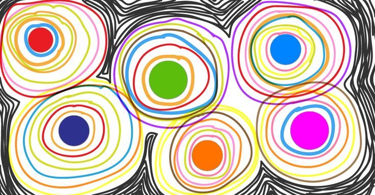 exercice-fiche- graphisme-écriture-moyenne-section-ms-les-ronds-tableau-points-lumineux