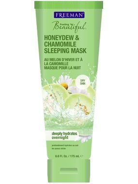 Freeman Feeling Beautiful Honeydew & Chamomile Sleeping Mask Smells great and not greasy. Bought 2!