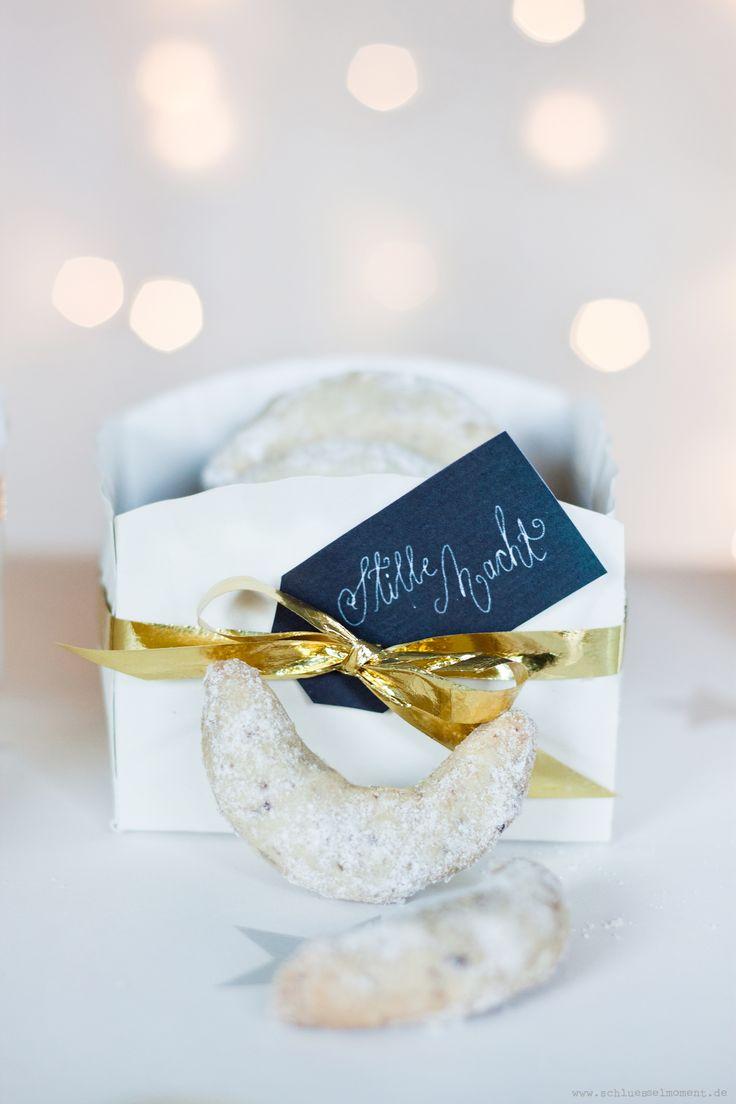 Best Vanillekipferl/ Cookie Recepe; Perfekte Vanillekipferl einfach und schnell; Plätzchenverpackung leicht selbst gemacht